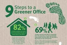Eco Infographics / Environmental facts displayed as infographics.