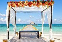 Bodas en la Playa / bellezas e ideas para tu boda en la playa...