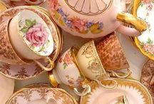 Tea party / Table wear and food