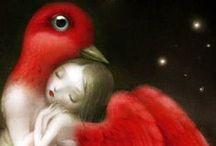 Here Birdie Birdie Art...