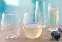Summer Inspiration / Warm breezes, outdoor adventures,and fun in the sun wine accessories and home decor.