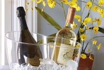 Spring Inspiration / Flowers are bringing color and beauty into the year - find inspiration with these wine accessories and storage.