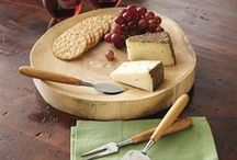 Natural Wood / Wine accessories, home decor, and furniture that bring out the rich grain, color, and texture of wood. Whether considering wine storage, or entertaining guests with style, natural wood is a beautiful material.