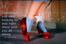 Wise Words, Sensational Shoes / A great pair of shoes can make you feel amazing and when you feel amazing, that's when the magic happens...