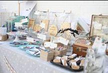 Craft stall inspiration / Craft fairs, stalls, displays - inspirations, DIY, ideas.