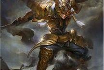 MA warrior
