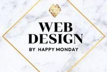 Web Design by Happy Monday / Responsive Web Design, UX User Experience, and UI User Interface design projects by Happy Monday @ www.kimberlycoles.com