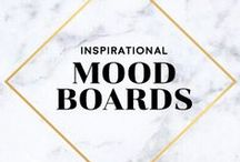 Mood Boards / Mood Boards, Inspiration Boards, Collage, Vision Boards, Brand Boards