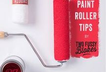Painting Tips by Two Fussy Blokes