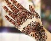 100 Attractive and beautiful Mehndi Designs / Mehndi Designs, Beautiful Henna Designs, Bridal Mehndi Designs