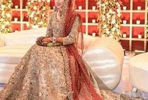 Stunning Pakistani wedding dresses /  Pakistani wedding dresses, Bridal Lehenga