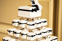 Wedding cakes / Wedding cakes of all different shapes and sizes to suit any brides budget. These popular wedding cake designs show the latest trends brides are favouring from coloured cakes to fresh flowers to cupcakes of all different shapes to gold painting on the cakes. The variety of wonderful wedding cakes is fabulous to see emerging as brides try to find the most unique wedding cake to showcase their personal style. Hopefully this board will give you ideas for your own special wedding cake.