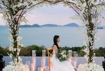 Wedding Outdoor / Outdoor wedding ceremony ideas  including   how to decorate the venue for the ceremony  using beautiful wedding backdrops ,arches, different seating, balloons, lighting  and flowers to make your day magical. See wedding venue ideas including wedding marquees.