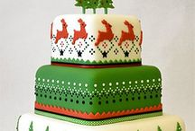 Christmas Cakes / Christmas cakes from traditional to cupcakes