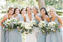 Bridesmaids / Beautiful and elegant Bridesmaid dresses. You will find dresses in a wide variety of fabrics and colors. So you can create your own mix within a common theme. It's a great way to give your bridal party more creative freedom and to add visual interest to your wedding and creating your own unique style for your wedding party.