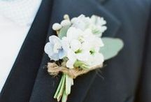 Groom flower lapels / Different types of flower lapels for grooms/groomsmen from modern to traditional to boho or unique... find something that suits your personality for your special wedding day.