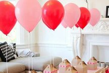 Birthday Party Girls / Birthday party for girls: cakes, food, decorations, games, balloons!