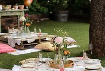 Outdoor Party / Ideas for Outdoor parties.. enjoy!