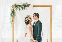 Wedding Backdrop / Find the perfect backdrop for your wedding ceremony.