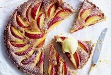 Pies and Tartes / Sweet and savory pies, tartes and quiches / Süße und pikante Pies, Tartes und Quiche