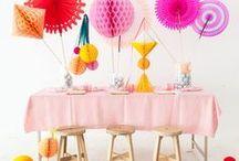 Kids Birthday Parties / Kindergeburtstag / Theme party ideas, decorations, cakes, games / Themenparty, Ideen für Kuchen, Deko und Spiele