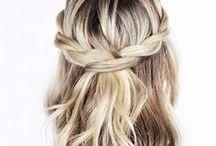 Everyday Hair / Easy casual chic hairstyles for everyday / Frisuren und Haarstylings für jeden Tag, einfach, schnell und trotzdem schön