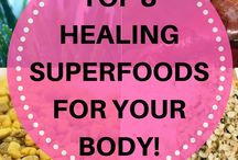 Healthy Foods / Collection of healthy foods ideas & recipes.