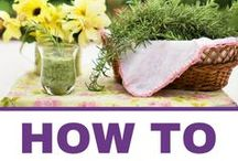 Herb Gardening For Beginners / Herb gardening tips and ideas for beginners. How to grow herbs indoors & outdoors.