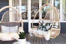 Outside / Draußen / Schöne Ideen für Terrasse, Balkon und Garten. Draußen feiern, schöne Gartenideen für Kinder und gemütliche Outdoor Möbel.