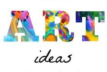Anytime Art / If you are an elementary teacher who has been asked to cover art, I know how you feel! It's a great way to get some creative energy out, but sometimes it can be a challenge to know what to do! These activities work for ANY time of year, and you're sure to find something your students (or own children) will love! Ideas for your Kindergarten, 1st, 2nd, 3rd, 4th, 5th, and 6th grade classroom - plus homeschool families! {Seasonal ideas on their own boards.} / by Heather aka HoJo