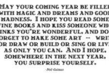 words / by Megan Klein