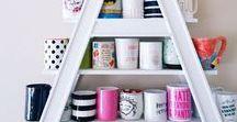Easy Home Organization Ideas / organizing ideas, storage solutions, home organizing, tips on staying organized.