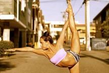 Sweaty = Happy (Yoga)