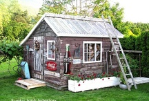 Garden: Sheds & Structures / by Cathy Mohn