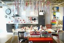 I could live in an IKEA room set quite happily.. / all things Ikea.
