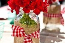Mason jars rock! / Ideas for Mason jar crafts, mason jar storage and decorating ideas. / by Raquel | Organized island