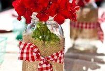 Mason jars rock! / I am a mason jar fanatic! I love DIY Mason jar craft ideas and mason jar storage tips. I even hide some in the closet ready for the next project!