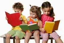 Books for Children / TV.  If kids are entertained by two letters, imagine the fun they'll have with twenty-six.  Open your child's imagination.  Open a book.  ~ Author Unknown / by Lorraine Neaves