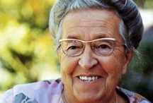 """Corrie ten Boom / """"Never be afraid to trust an unknown future to a known God."""" ~~ Corrie ten Boom"""