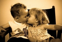 Little Hugs and Kisses / A kiss without a hug is like a flower without the fragrance.  ~Proverb