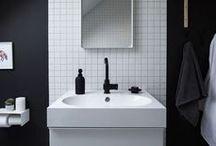 Bathrooms / Bathroom inspiration Style Space & Stuff.blogspot.com