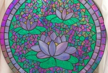 Mosaic flowers & trees / by Glenys Fentiman