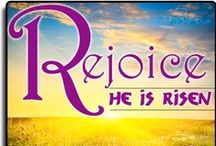 """The Resurrection / """"I am the resurrection, and the life: he that believeth in me, though he were dead, yet shall he live: And whosoever liveth and believeth in me shall never die."""" ~  (John 11:25-26)"""