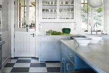 Kitchen Inspiration / Ideas for our kitchen and laundry remodel / by Erin Riordan