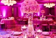 Wedding Uplighting | Pink / #pink #wedding #uplighting in #Dallas