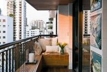 Small Balconies: Less Work / by Heather Tucker