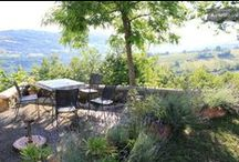 Le Marche - La Capriola / A lovely rural holiday house with a fabulous view over roling hills and the Sibilini mountains.
