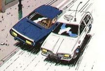Cars in comics