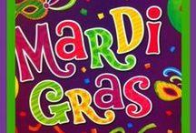 Mardi Gras / Mardi Gras party ideas, recipes, crafts