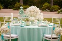 ♥ BW Tiffany & Co Table / Happy Monday! Hope everyone had a great weekend!  Today, as promised, we're sharing our high resolution photos from our Tiffany & Co. inspired wedding table. What do you think?  / by Bianca Weddings & Events